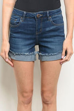 Load image into Gallery viewer, Ava Denim Shorts