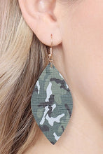Load image into Gallery viewer, Camo Earrings