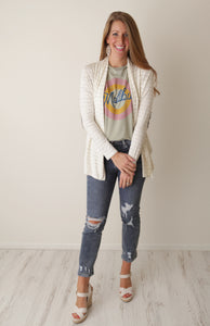 Pretty with Patches Cardi