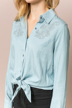 Load image into Gallery viewer, Chambray Blouse