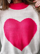 Load image into Gallery viewer, All My Heart Sweater