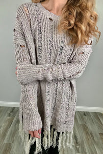 Boho Babe Sweater Tunic