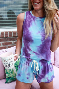 Atlantic Sunset Tie Dye Top
