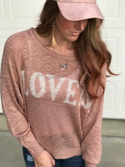 Love Is. Sweater