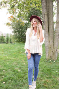 Romantically Fall Blouse