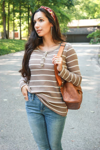 Harvest Henley Top