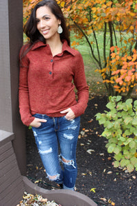 Harvest Henley Sweater