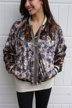 Load image into Gallery viewer, Fab & Floral Bomber Jacket