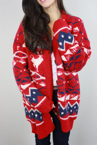 Cabin Fever Cardigan Sweater
