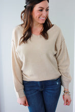 Load image into Gallery viewer, Basically Beige Sweater