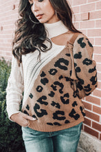Load image into Gallery viewer, Luxe Leopard Sweater