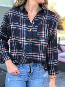Fabulous Flannel Top