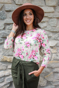 Vintage Fall Floral Top