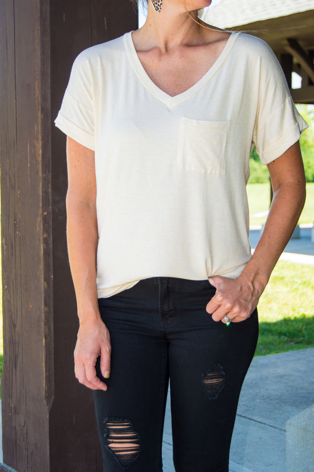 Easy Breezy Pocket Tee