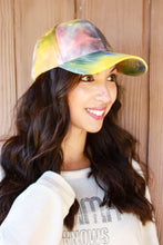 Load image into Gallery viewer, Tie Dye Baseball Hat