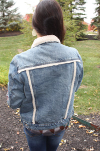 Gone for a Hike Denim Jacket