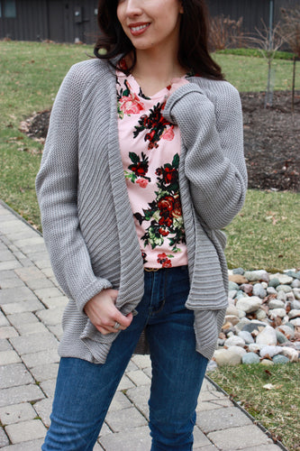 Storm Cloud Cardigan