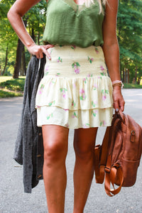 Park Avenue Smocked Skirt