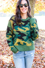 Load image into Gallery viewer, Hidden Forrest Camo Sweater
