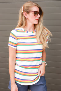 Summer Striped Tee