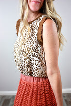 Load image into Gallery viewer, Lucky in Leopard Blouse