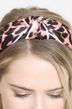 Load image into Gallery viewer, Pink Leopard Headband