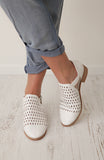 White Shoe Booties