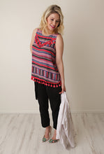Load image into Gallery viewer, Scottsdale Tassel Tank