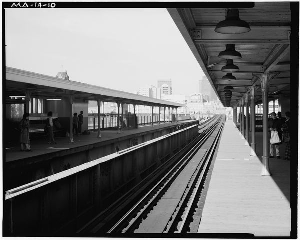 Dover Station Platform, Looking North, 1982