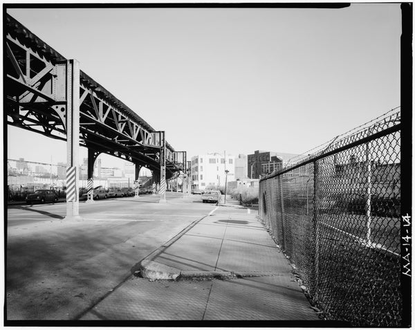 Washington Street Elevated, at Waltham Street, 1982