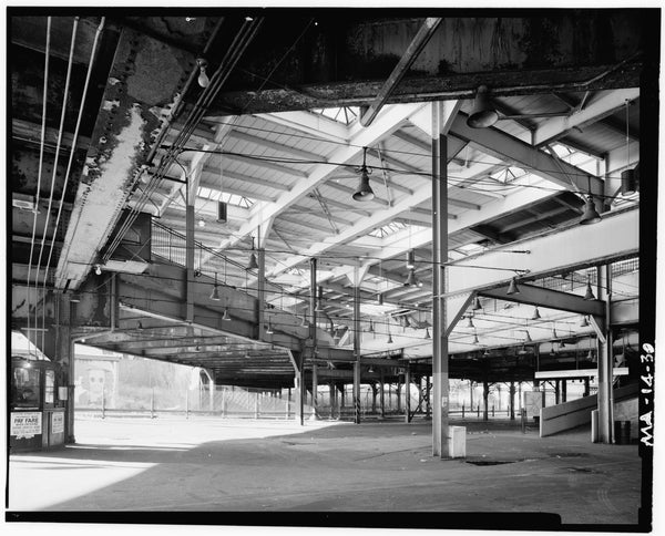 Dudley Street Station, Surface Level, 1982