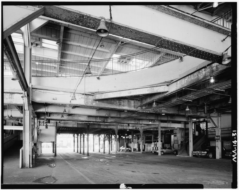 Dudley Street Station, Beneath East Loop, 1982
