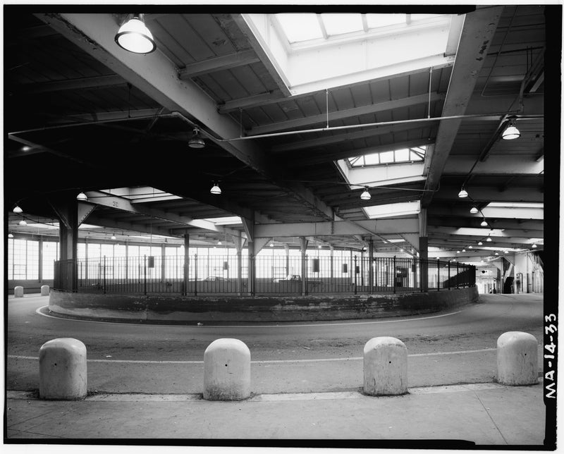 Dudley Street Station, Upper Level Bus Turnaround, 1982