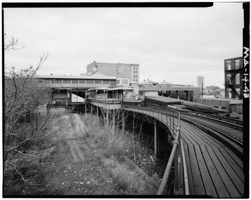 Dudley Street Station, South Elevation, 1982