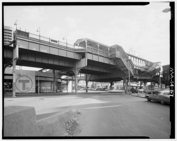 Egleston Square Station, West Elevation, 1982