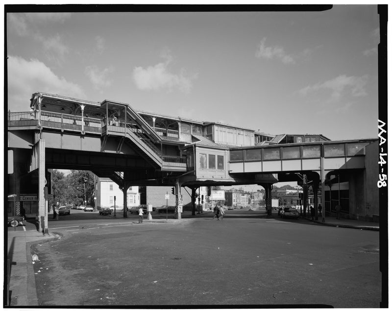 Egleston Square Station, East Elevation, 1982