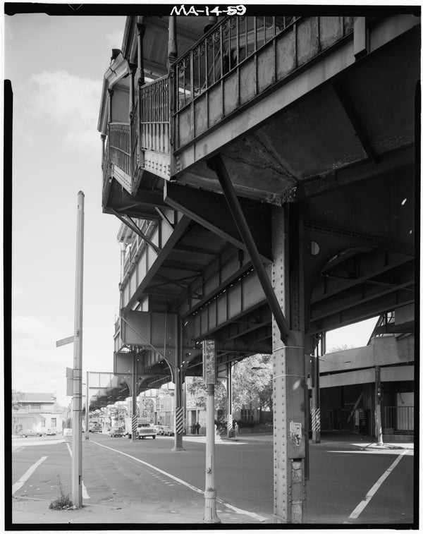Egleston Square Station, Street Level, 1982
