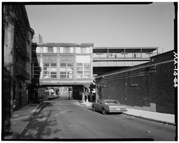 Green Street Station, East Elevation, 1982