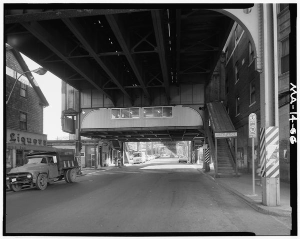 Green Street Station, Street Level, 1982
