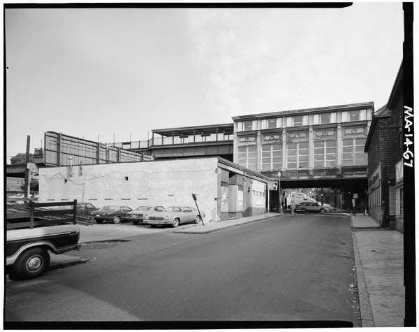 Green Street Station, West Elevation, 1982