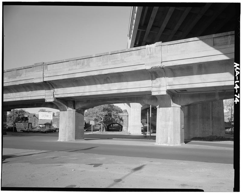Forest Hills Extension at Arborway, East Elevation, 1982