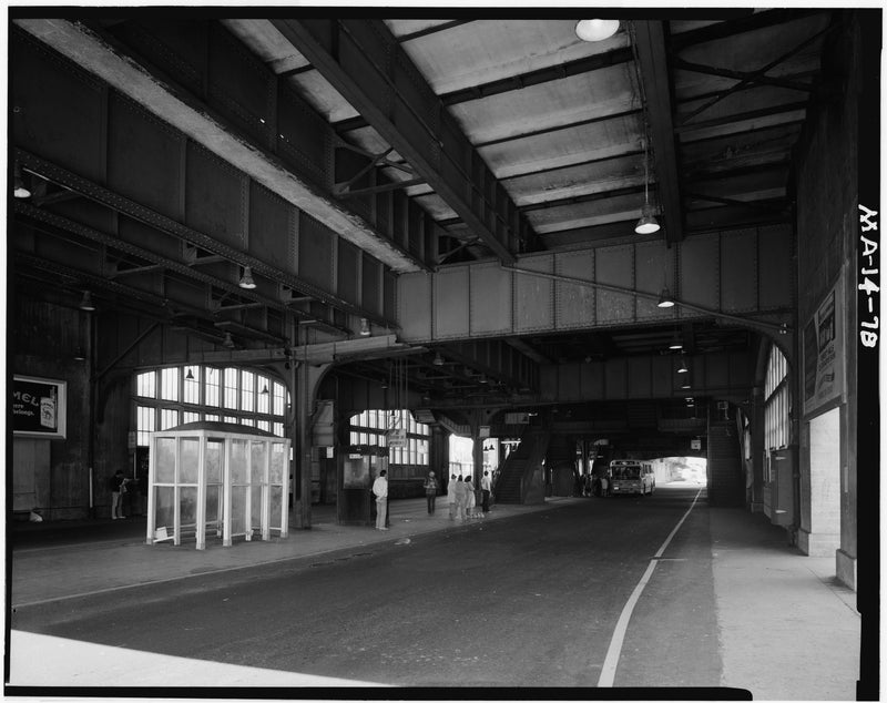 Forest Hills Station, Lower Level, 1982