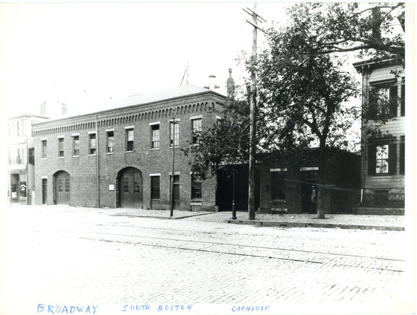 Broadway Car House, South Boston, Circa 1890s
