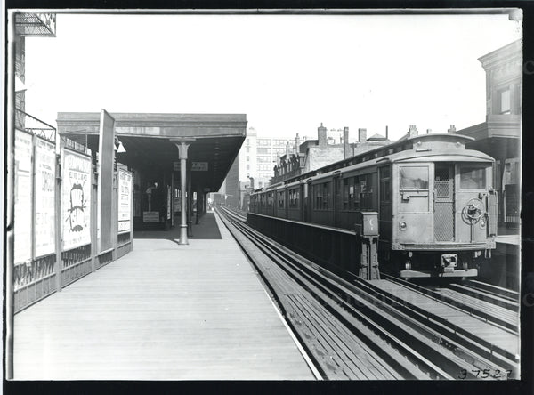 Dover Station with Train of 300-Series Elevated Cars