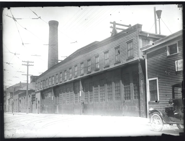 Allston Power Station and Car House Circa 1920