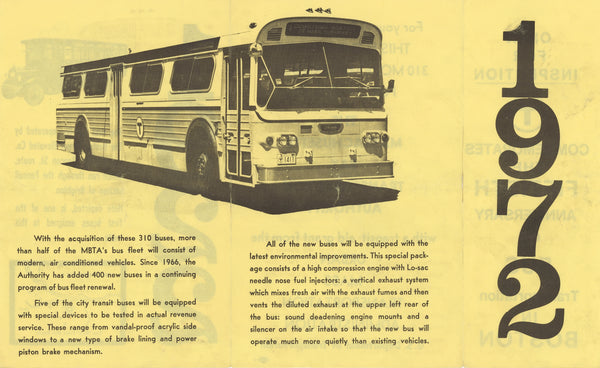 50 Years of Bus Transit in Boston (Side B) 1972