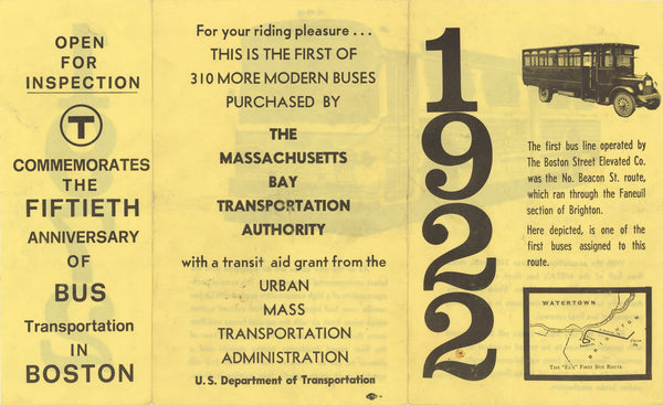 50 Years of Bus Transit in Boston (Side A) 1972