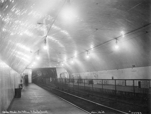 Atlantic Avenue Station November 16, 1908