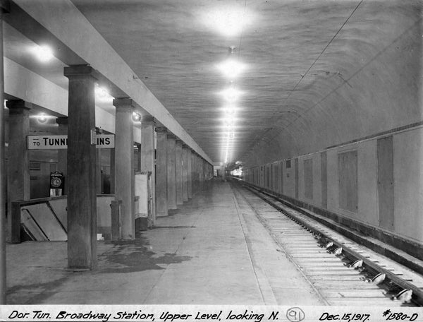 Broadway Station Interior December 15, 1917