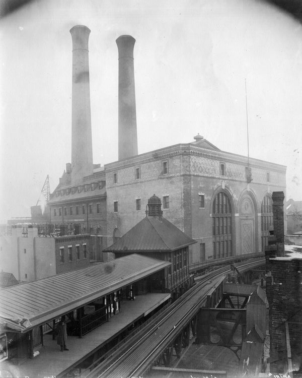 Battery Street Station, Boston, Massachusetts 1901